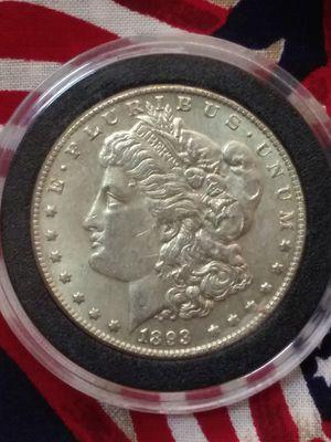 1893CC morgan silver dollar AU. for Sale in Fort Myers, FL