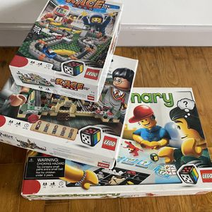 3 boxes of 3 LEGO game sets , Race 3839, Harry Potter 3862, Creationary 3844 for Sale in Arlington, WA