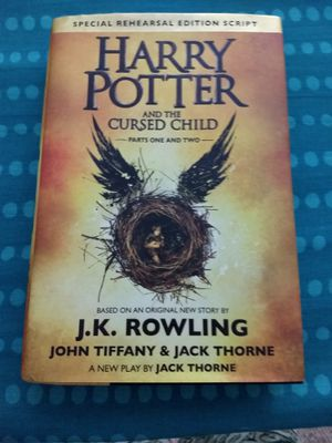 Harry Potter and the Cursed Child for Sale in Traverse City, MI