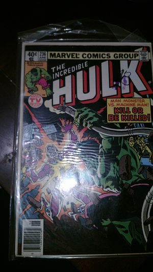 Marvel comics incredible hulk issue number 236 for Sale in Irwindale, CA