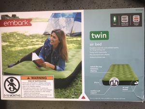 Brand New ! Embark Single High Twin Air Mattress ! for Sale in Chino Hills, CA
