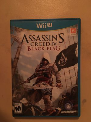 Nintendo Wii U assassin's creed black flag for Sale in Visalia, CA
