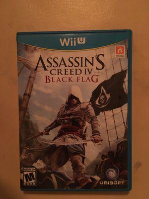Nintendo Wii U assassin's creed black flag for Sale in Visalia, CA