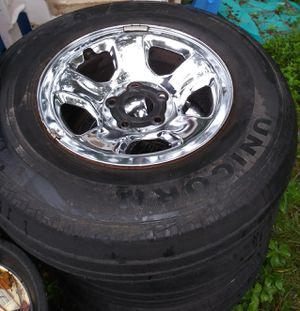 17 inch Chrome plated rims for Sale in Orlando, FL