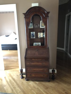 Antique French secret furniture with Marquetry for Sale in Pikesville, MD