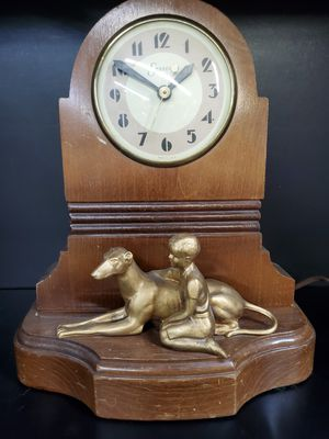 Art Deco Antique Sessions Mantle Clock Boy & Dog for Sale in Seattle, WA