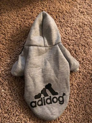 Adidog hoodie for small dogs for Sale in Phoenix, AZ