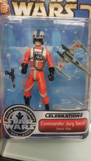 Star Wars Celebration II Exclusive Jorg Sacul (George Lucas) Action Figure for Sale in Roseville, CA