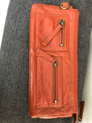 Nordstrom leather purse spice orange for Sale in Newberg, OR