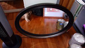 Oval mirror approx 24x36 for Sale in River Grove, IL