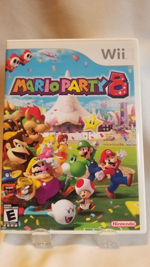 Nintendo Wii Mario Party 8 MINT for Sale in Newberg, OR