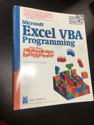 Excel VBA programming book for Sale in Chicago, IL