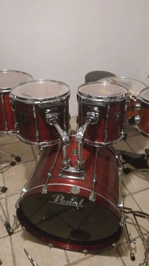 Pearl export series ..just Toms ,kick$ 210 obo for Sale in Phoenix, AZ