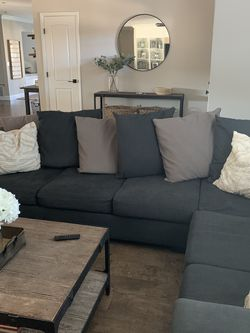 Gray sectional for Sale in Scottsdale,  AZ