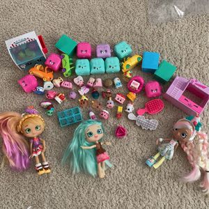 Collection of Shopkins and Dolls for Sale in Hayward, CA
