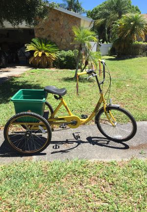 Adult Trike tricycle bike for Sale in Tampa, FL