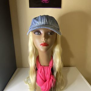 New denim blonde hair wig for Sale in Portland, OR