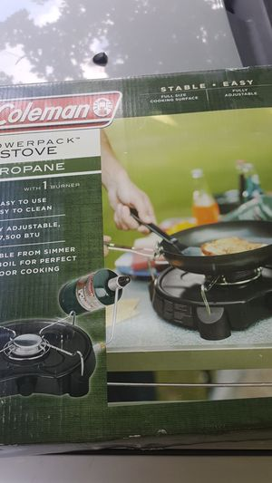 Coleman powerpack stove for Sale in Speedway, IN