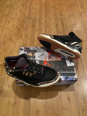 Nike Air Jordan 3 Retro SE Black/ Multi Color-Black Mocha Sizes Men's 7-8.5-9-9.5 -10-11.5-14 for Sale in Los Angeles, CA