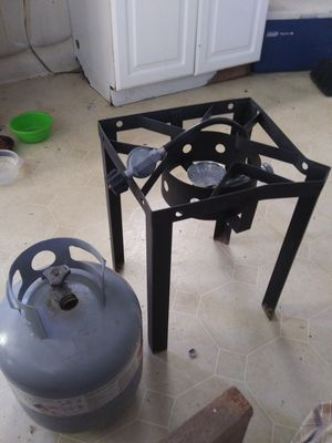 Low country boil rig or fish fry l.p. tank full for Sale in Martin, GA