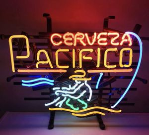 NEW CERVEZA PACIFICO NEON SIGN - NEW -HANDMADE for Sale for sale  Bonner Springs, KS