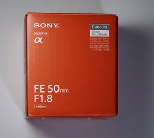 Sony Lens FE 50mm F1.8 ( Best value for money Prime Lens) for Sale in Orland Park, IL