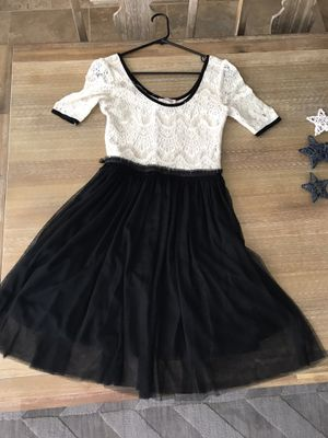 Black and cream dress for Sale in Gilbert, AZ