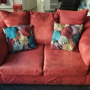 Red Loveseat for Sale in Los Angeles, CA
