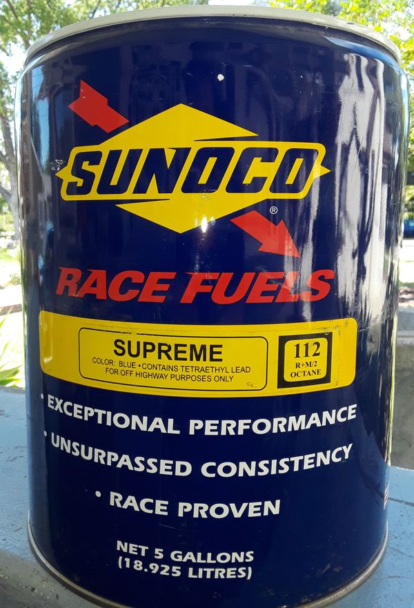 Sunoco 112 Octane Racing Fuel approx  3/4 Full for Sale in Ontario, CA -  OfferUp