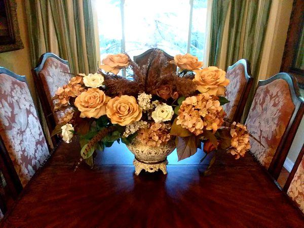 LARGE floral arrangement, luxury home decor