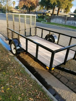 Trailer with ramp 6x10x2 for Sale in Madera, CA