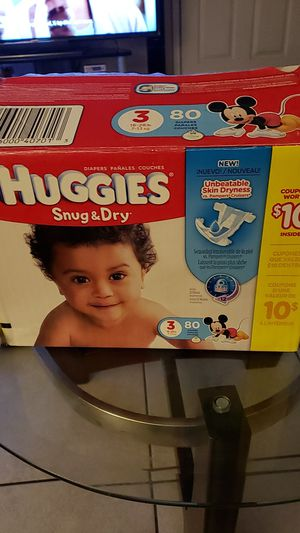 Diapers size 3 for Sale in Pomona, CA