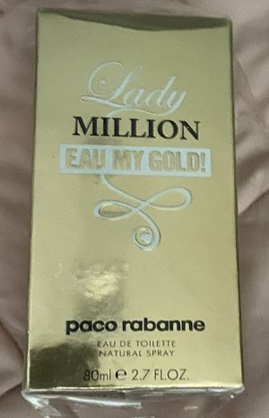 Lady Million Eau My Gold by Paco Rabanne Perfume for Sale in Philadelphia, PA