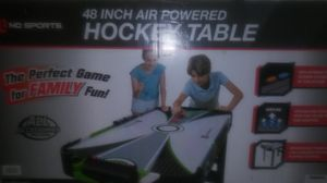 48 Inch Air Powered Hockey Table for Sale in East Cleveland, OH