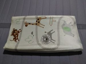 Summer Infant Ultra Plush Pack N Play Playard Changing Table Pad Cover Safari Zoo Animals for Sale in Charlotte, NC
