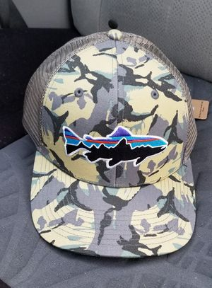 Patagonia Trout Camo Trucker Hat for Sale in Las Vegas, NV