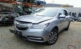 2016 acura Parts only accident cars totaled selling parts only as is for Sale in Philadelphia, PA