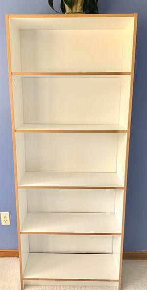 White bookshelf/ bookcase for Sale in Redmond, WA