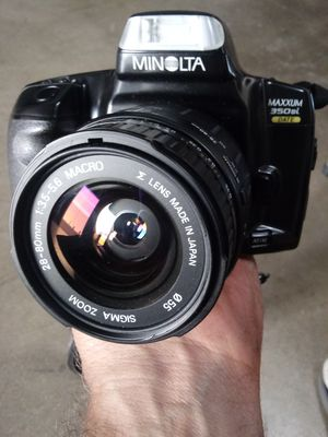 Minolta Maxxum 350si w/28-80mm FULLY-TESTED for Sale in Chino, CA