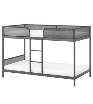 Gray twin bunk bed - Frame only for Sale in Montclair, VA
