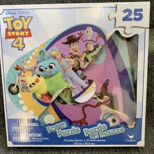 Toy Story 4 Foam Puzzle for Sale in Los Angeles, CA