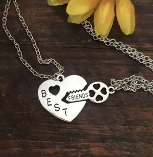 Heart and Key Best Friend Necklace Set for Sale in Denver, CO
