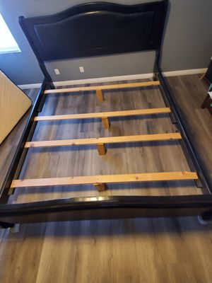 Cal King Bed Frame (black) for Sale in Perris, CA
