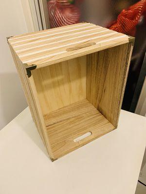 Solid Wood Storage Bin for Sale in Alexandria, VA