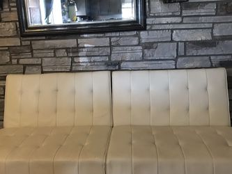 A Beautiful White Futon Couch for Sale in Phoenix,  AZ