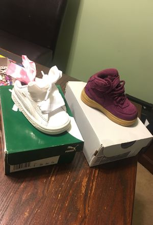 Patent Inf Puma & Force 1 MID for Sale in Alexandria, VA