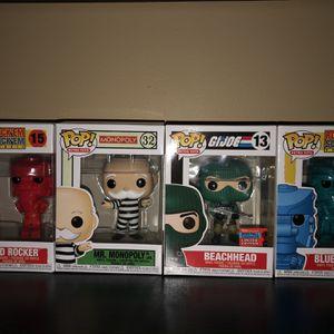 Funko Retro Toys Line Set Of 4 for Sale in Montebello, CA