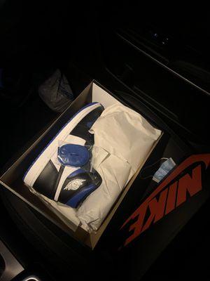 Jordan 1 High Royal Toe sz 10 for Sale in Dallas, TX