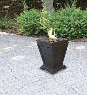 LP gas outdoor fireplace for Sale in Oceanside, CA