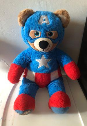 Captain America bear for Sale in Dallas, TX
